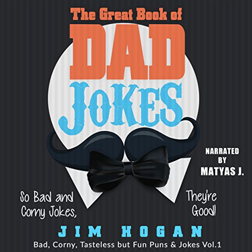 The Great Book of Dad Jokes audiobook cover art