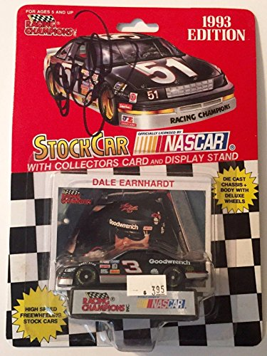 Dale Earnhardt Sr. Signed Racing Champions GM GOODWRENCH Service 1/64 Car #1 - Autographed Diecast Cars