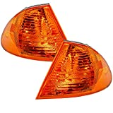 HEADLIGHTSDEPOT Signal Lights Compatible with BMW 323i 325i 328i 330i 1999-2001 3-Series/E46 4-Door Sedan/Wagon Includes Left Driver and Right Passenger Side Signal Lights