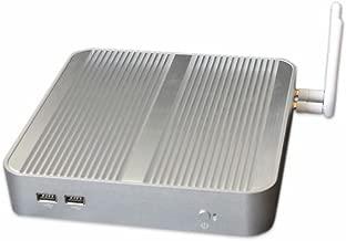 Chatreey A17F Fanless Mini PC Desktop, Windows 10 64-Bit Intel 5th Generation i5(Up to 2.7GHz) HD Graphics/ DDR3L 8GB/ 32GB/ 4K/Dual-Band WiFi/ 1000Mbps LAN/ Bluetooh4.0/USB3.0[HDMI&VGA]