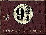 HARRY POTTER 'Dumbledore impresión sobre Lienzo, 40x 50cm, poliéster, Hogwart's Express, 60 x...
