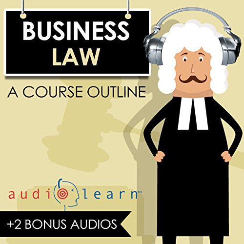 Business Law AudioLearn audiobook cover art