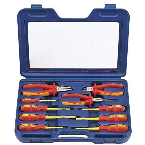 Draper Expert 71155 Tournevis et pinces isolés Kit de 10 pièces Norme VDE