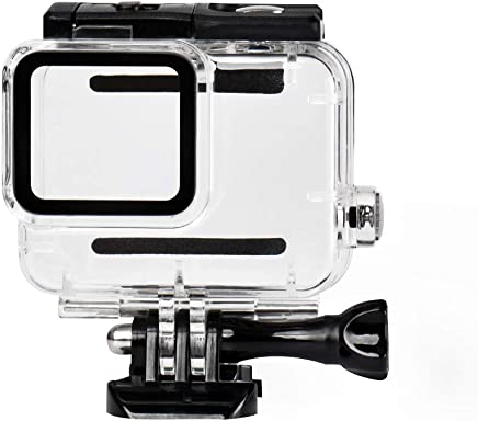 Sea frogs Housing Case for GoPro Hero 7 White Waterproof Case Diving Protective Housing Shell Water Resistant up to 147ft (45m) with Bracket Accessories