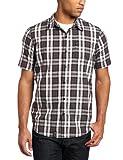 LRG Teen-boysmen's Big-Tall Core Collection Short Sleeve Plaid Woven Shirt, Black, 3XL
