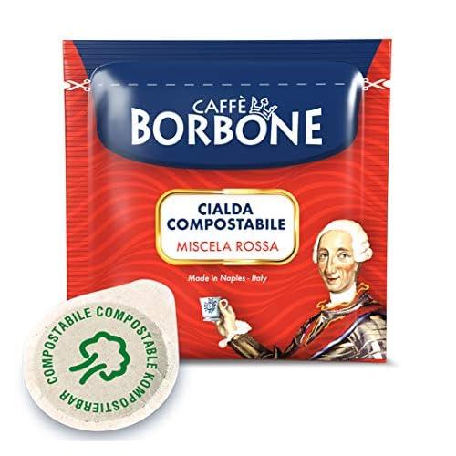 Caffè Borbone Cialde Miscela Rossa - Confezione da 100 Cialde - 720 g