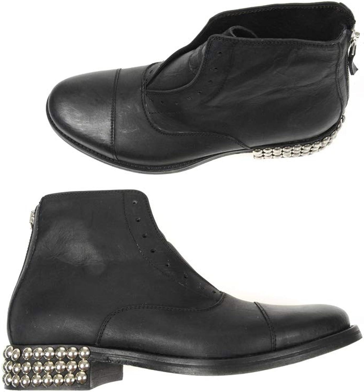 DANIELE ALESSANDRINI shoes Polacco Zip F119KL603525
