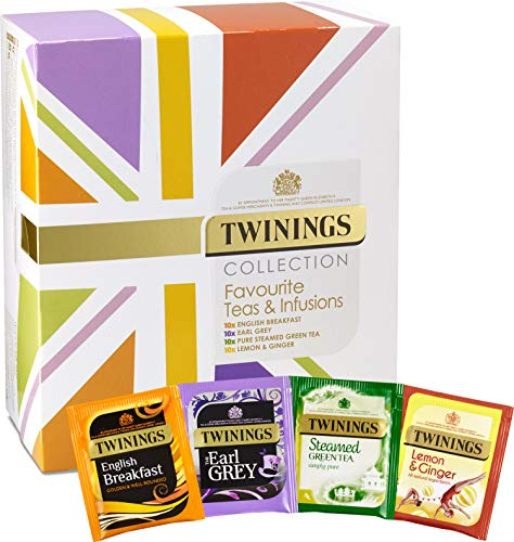 Twinings Collection Favourite Tea & Infusions Selection Box