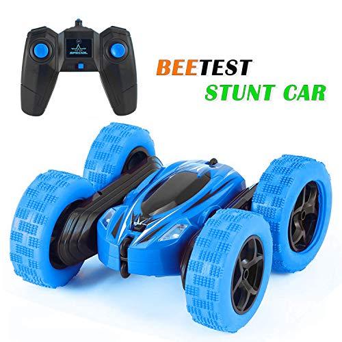 Beetest Voiture Telecommand Enfant, 4WD Voiture RC Telecommande Enfant Stunt Car...