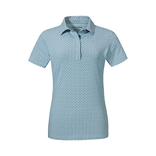 Schöffel Damen Polo Shirt Altenberg1, Cerulean, 40