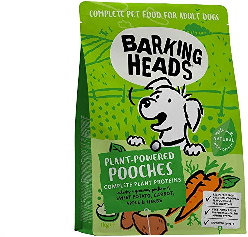 Barking Heads Dry Plant-Powered Pooches 1kg Vegetarian Dog F