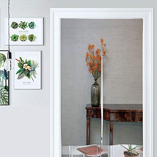 SUPNON Japanese Noren Doorway Curtain Sideboard in Front of A Grey Wall with Door Way Curtain Fitting Room Curtain Partition Curtain Door Hanging Tapestry IS160075 W39.3 x L59