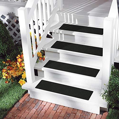 Treppenstufen Matten Teppich 15 Stück/Set (dunkelgrau)