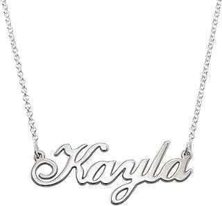 kayla name necklace