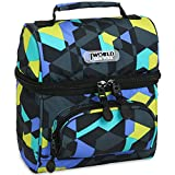 J World Corey Kids Lunch Bag. Insulated Lunch-Box for Women, Cubes