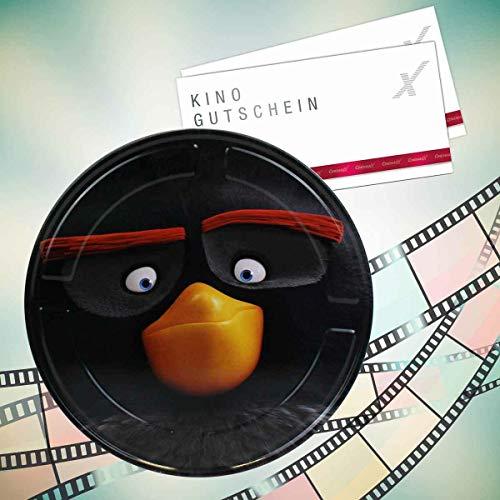 Angry Birds CinemaxX Filmdose Bomb Double mit 2 Kinogutscheinen