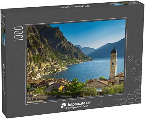 Puzzle 1000 Teile Gardasee - Klassische Puzzle, 1000/200/2000 Teile, in edler Motiv-Schachtel, Fotopuzzle-Kollektion 'Italien'