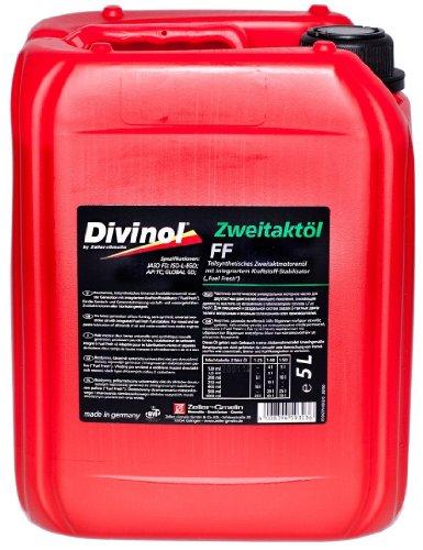 Divinol tweetaktolie FF 1x5 liter 2-taktolie gedeeltelijk synthetisch 2T mengolie