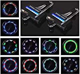 Bicycle Wheel Lights - Waterproof LED Bicycle Spoke Tire Lights (2Pack) - Bike Wheel Lights for Kids Adults 30 Different Patterns Change Bike Accessories - Easy to Install