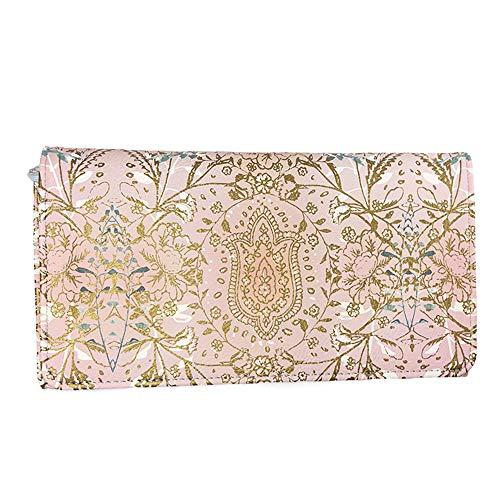 Papaya Women's Art Accessories Trifold Wallet - Lotus Garden