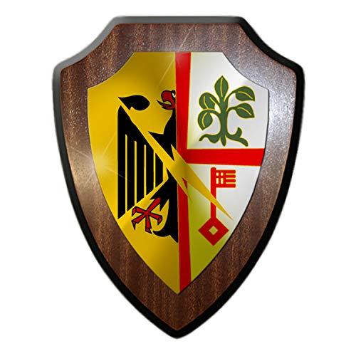 Wappenschild FmBtl 960 Mayen Fernmelder Bundeswehr Heer Funker Andenken #34493