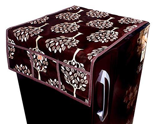 KANUSHI Industries® Designer Fridge Top Cover (Brown)