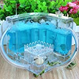 Auxi Ant Farm, Gel Pet Insect Feeding Castle Ant World Pasture Home Science and Education Toys Ant Farm for Kids 11x11x11cm A