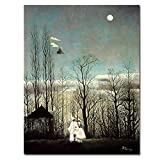 N / A Oil Painting Carnival Night Home Decoration Mural Living Room Canvas Art Printing Frameless 60x80CM