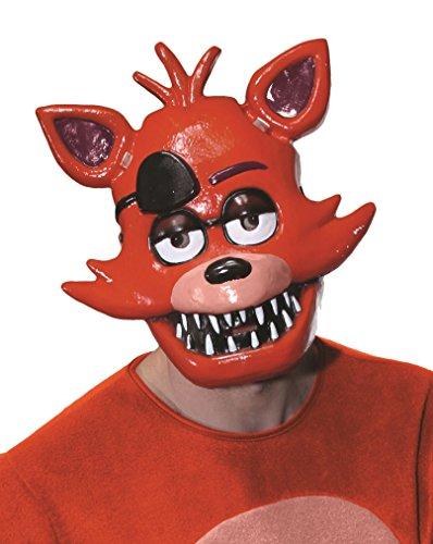 Rubie's – Kostüm Kinder Five Nights at Freddy's Foxy Halbmaske Unisex Erwachsene Standard