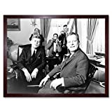 Wee Blue Coo LTD B&W History JFK Kennedy Mayor Willy Brandt