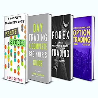 Investing for Beginners: 4 Manuscripts     Penny Stocks, Forex Trading, Option Trading, Day Trading              By:                                                                                                                                 Luke Sutton                               Narrated by:                                                                                                                                 Dave Wright                      Length: 5 hrs and 13 mins     40 ratings     Overall 4.5