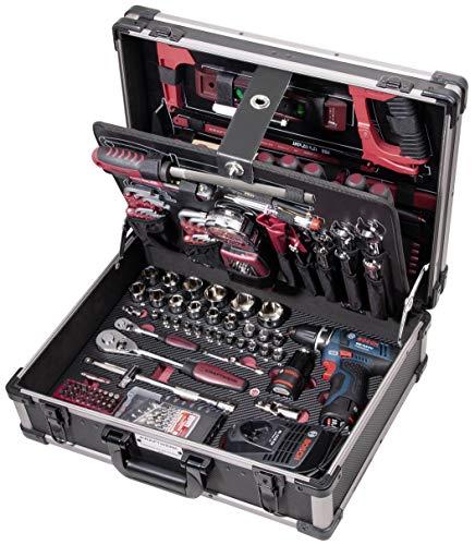 KRAFTWERK 3949 - Maletín 266 herram. profesionales KW/Bosch