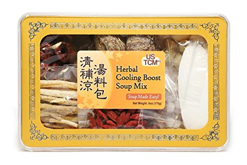 Herbal Cooling Boost Soup Mix Soup Base 清補涼湯料包 Ching bo Leung Soup Made Easy! 3-4 Servings 6oz