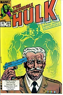 The Incredible Hulk #291 : Old Soldiers Never Die (Assistant Editor's Month - Marvel Comics)