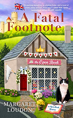 A Fatal Footnote (The Open Book Mysteries 2) by [Margaret Loudon]