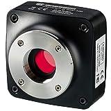 Bresser - Microcamera 5 MP HIS con sensore Sony® IMX264 sensibile alla luce e software completo