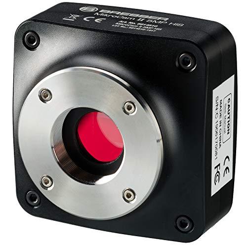 Bresser Mikroskop Kamera MikroCamII 5MP HIS mit lichtempfindlichen rauscharmen Sony® IMX264 Sensor und umfangreicher Software