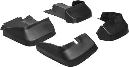Splash Guard Compatible With 2006-2011 HONDA CIVIC 4DR | Factory Style PU Black Bodykit by IKON MOTORSPORTS | 2007 2008 2009 2010