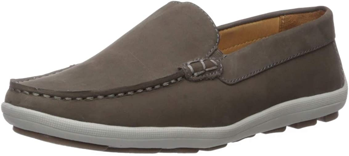 Driver Club USA Unisex-Child Kids Boys/Girls Leather Venetian Driving Style Loafer