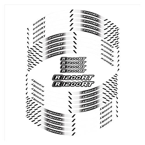 wjyfexble Etiquetas de Ruedas Interiores de la Motocicleta Rim Decoración Reflectante de Las calcomanías compatibles con BMW R1200RT WYJHN (Color : 3)