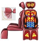 HYCy Espalda Masajeador eléctrico Cervical | Sillón de Masaje Shiatsu | Cintura | Hombros | Amasar | Aliviar el Dolor Muscular | para el hogar |Oficina | Cojín de Masaje para la espald