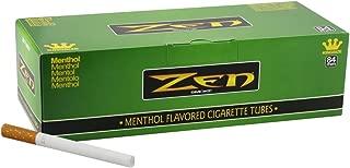 1 Box - 200pc Zen King Size Menthol Cigarette Tubes