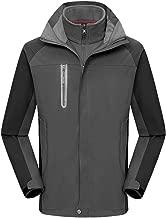 Beautyfine Couple Coat Models Windproof Waterproof Thick Warm Jacket Hiking Clothing Sports Overcoat
