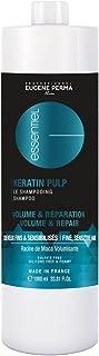 Eugene Perma professionale Shampoo cheratina Pulp essenziale per dare del volume/riparare i capelli sottili 1L