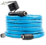 Camco 25ft TastePURE Heated Drinking Water Hose - Lead and BPA Free, Reinforced for Maximum Kink Resistance, 1/2' Inner Diameter (22922)