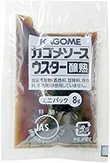 Kagome) Jounetsu Worcestershire sauce mini pack 8gX40 pieces