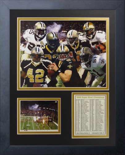 Reggie Bush and Pierre Thomas  New Orleans Saints NFL Framed 8x10 Photograph Super Bowl XLIV Celebration