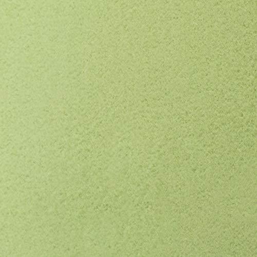 #6 Etérea Teddy Flausch Kinder-Spannbettlaken, Spannbetttuch, Bettlaken, 18 Farben, 60×120 cm – 70×140 cm, Apfelgrün - 3