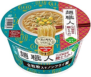日清 麺職人 台湾麺線風鰹とろみそば 77g×12個