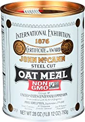 Delicious 10th traditional anniversary gift idea - Tin can of oatmeal